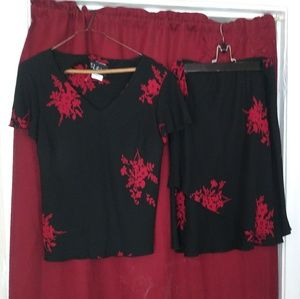 Skirt and top set size 14 s l fashions